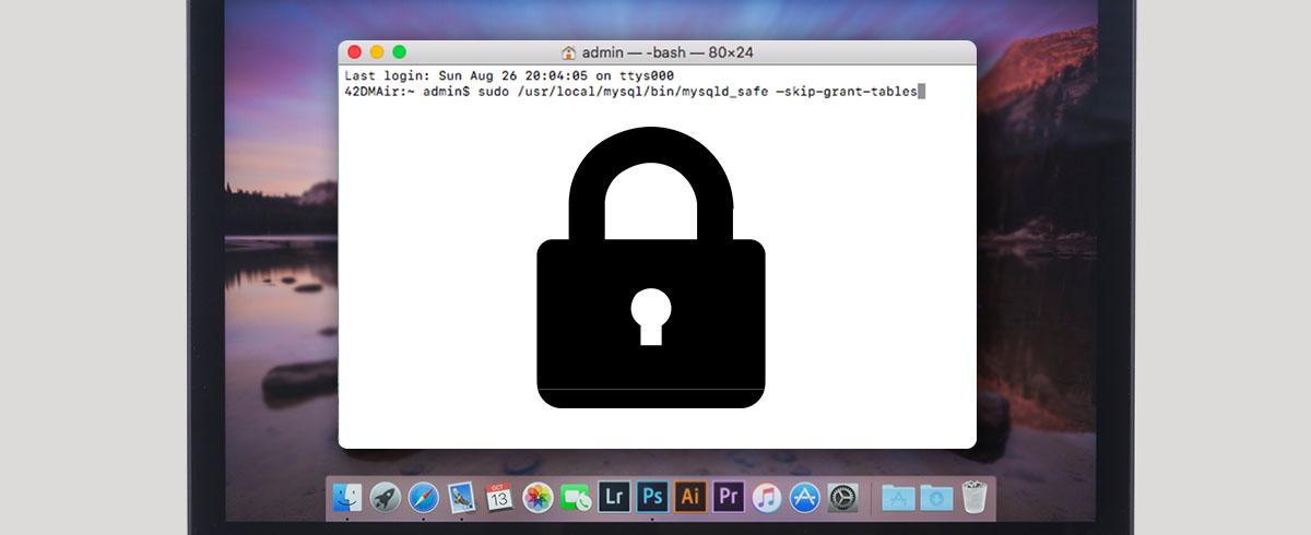 Resetting MySQL Root Password on your Mac | MacUpdate Blog