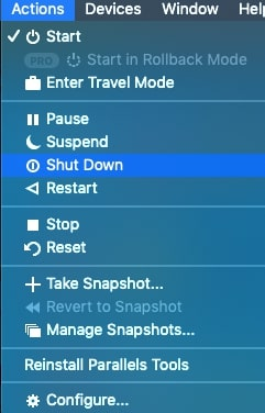uninstall Parallels Mac