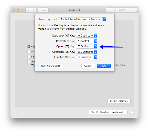 Use Option Key in Different Apps on Mac-img-5