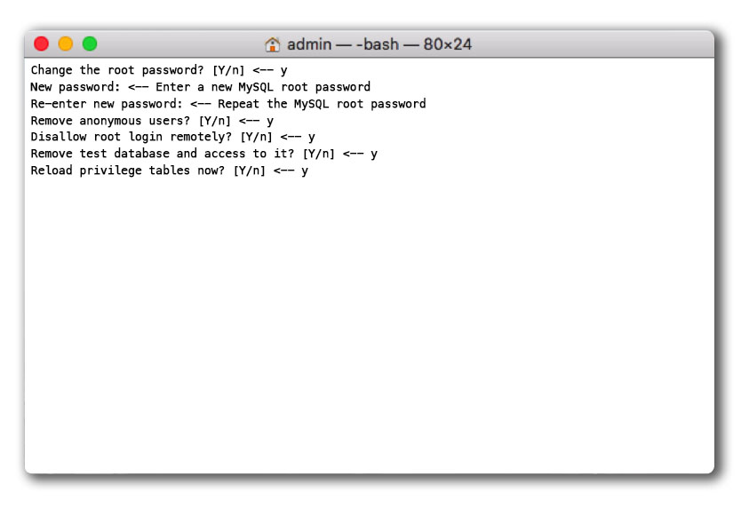 reset MySQL root password on Mac-im-3