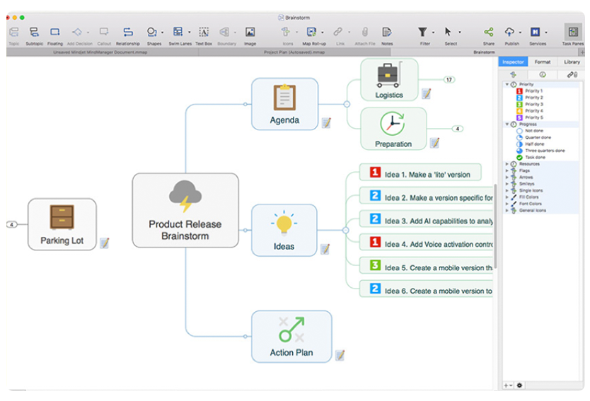 Mind Mapping Software for Mac-im-4