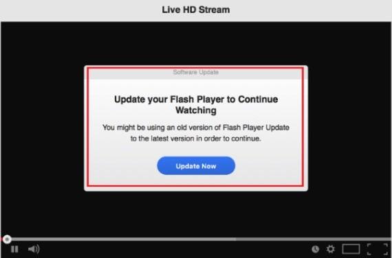Shlayer Trojan Mac malware through fake Flash update