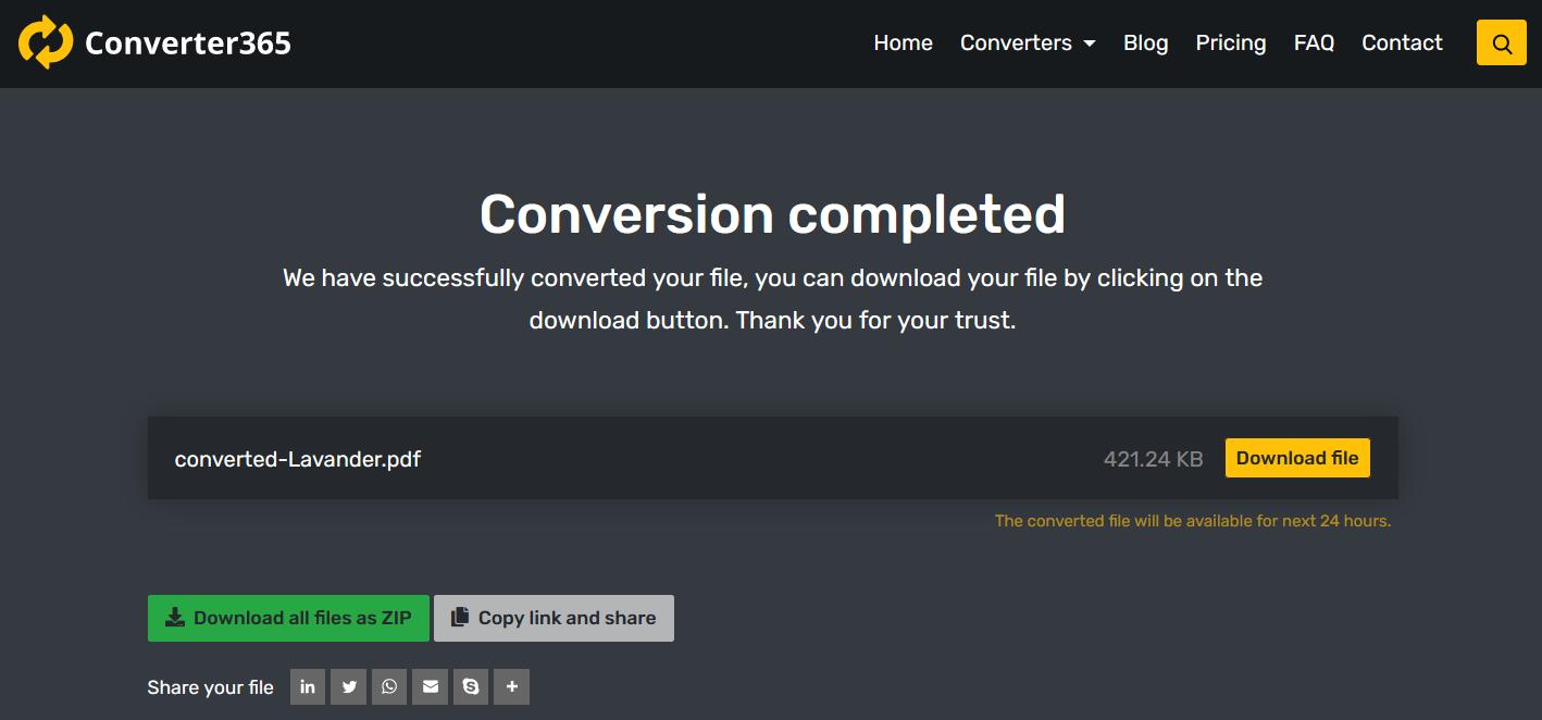 Convert HIEC to PDF online free
