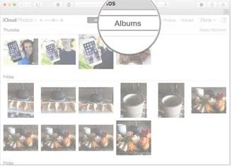 Recover photos from iCloud on Mac