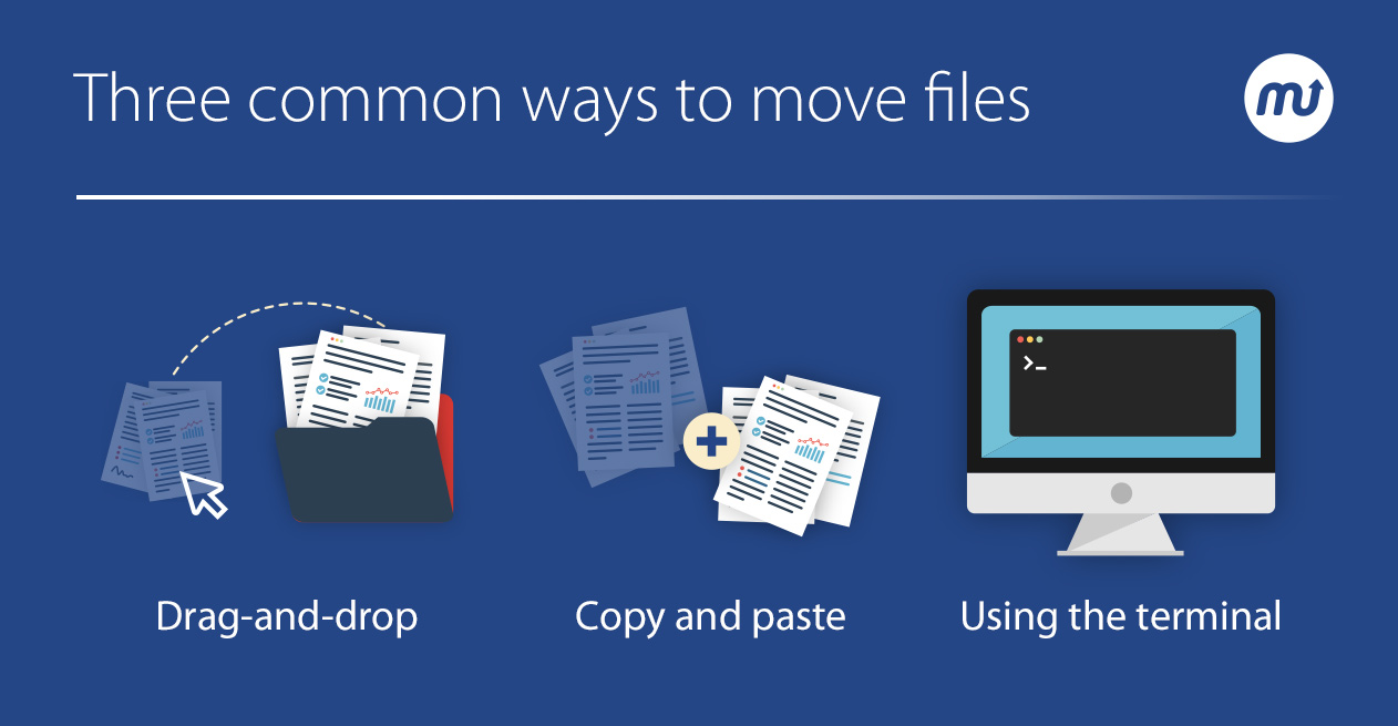Three common ways to move files on your Mac - Learn more on the MacUpdate blog