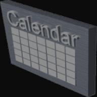 Mini Popup Calendar free download for Mac