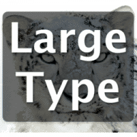 LargeType2 free download for Mac