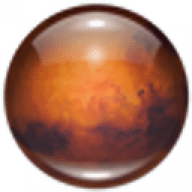 Mars 3D Space Survey Screensaver free download for Mac