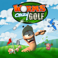 Worms Crazy Golf free download for Mac