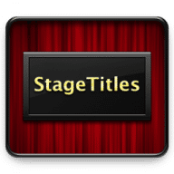 StageTitles free download for Mac
