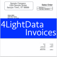 4LightData Invoices free download for Mac
