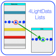 4LightData Lists free download for Mac