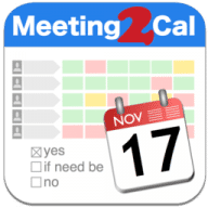 Meeting2Cal free download for Mac