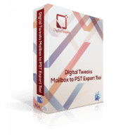 Digital Tweaks Mailbox to PST Export Tool free download for Mac