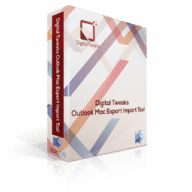 Digital Tweaks Outlook Mac Export Import Tool free download for Mac
