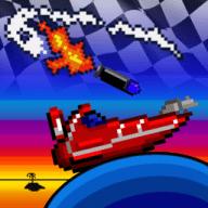 Pixel Boat Rush free download for Mac