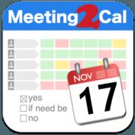 Meeting2Cal free download for Mac