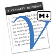Versatil Markdown free download for Mac