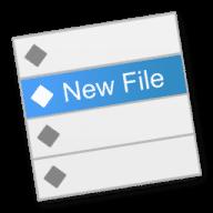 New File Menu free download for Mac