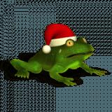 Christmas Super Frog