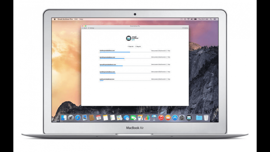 Email Archiver Pro for Mac - review, screenshots