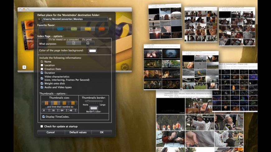 MovieIndex for Mac - review, screenshots