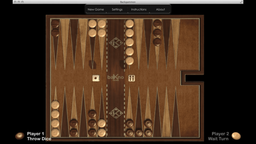 Backgammon HD for Mac - review, screenshots