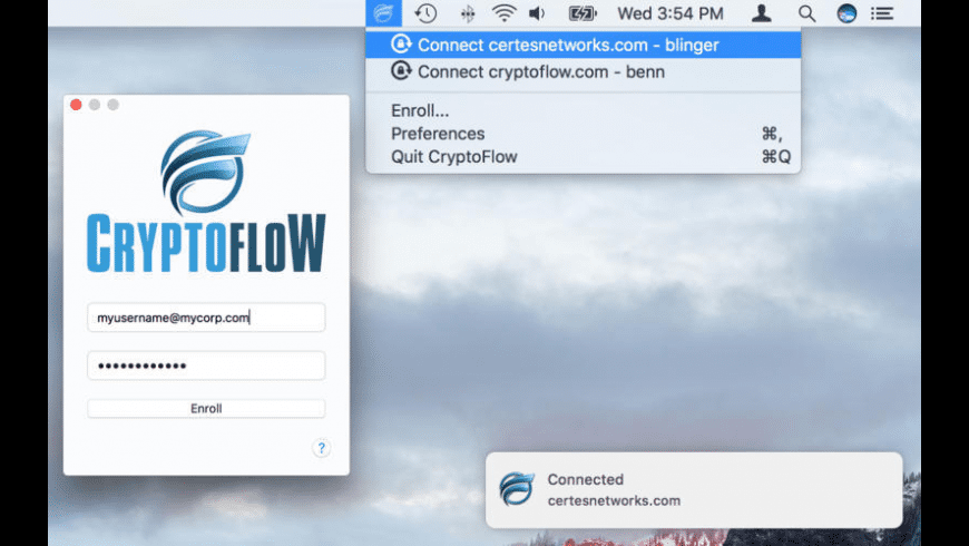 CryptoFlow for Mac - review, screenshots