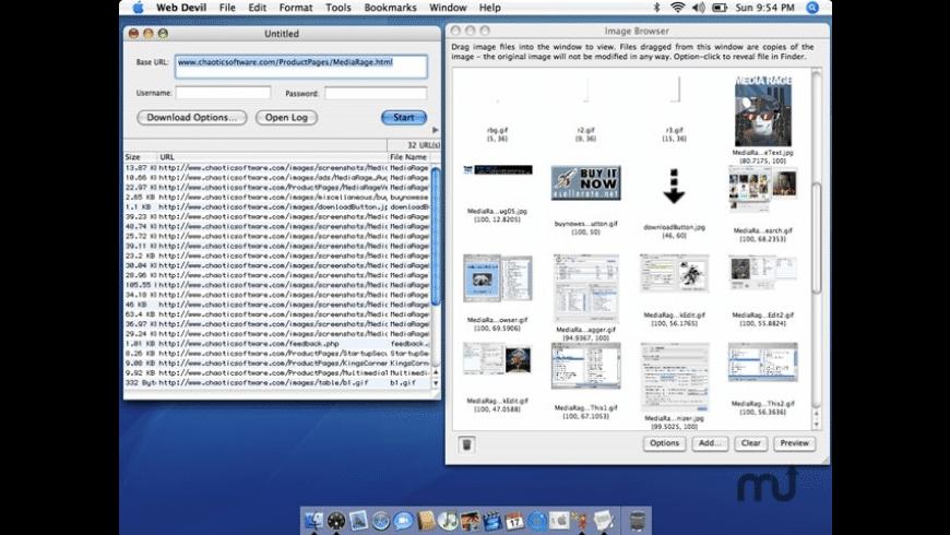 Web Devil for Mac - review, screenshots