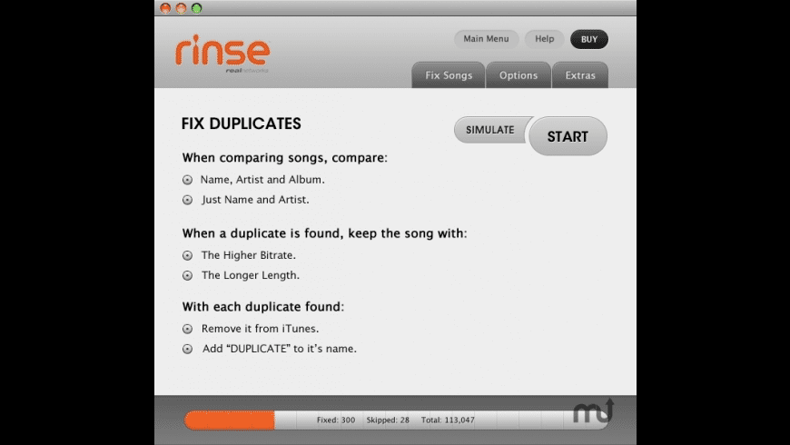 Rinse for Mac - review, screenshots