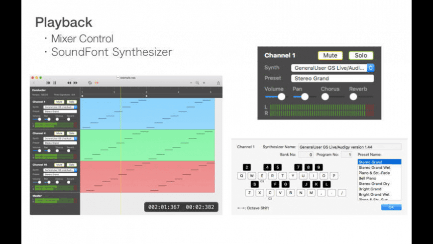 NASequencer for Mac - review, screenshots