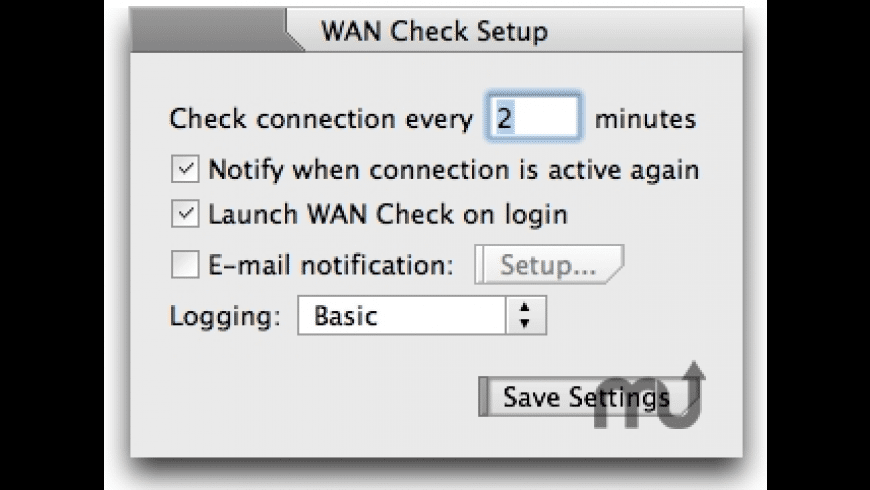 WAN Check for Mac - review, screenshots