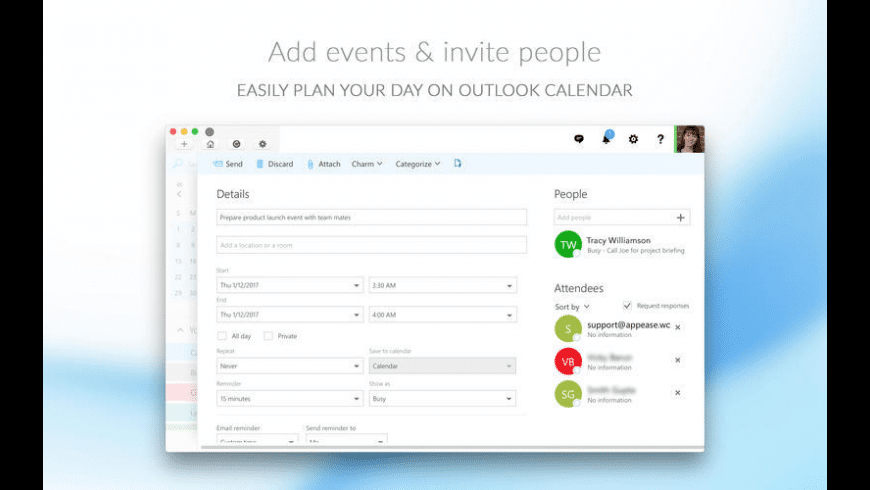 CalendarPro for Outlook for Mac - review, screenshots