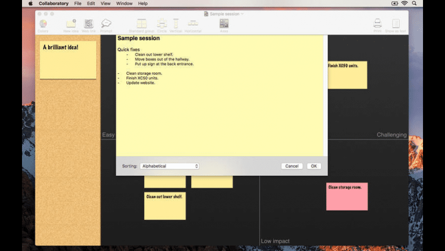 Collaboratory for Mac - review, screenshots
