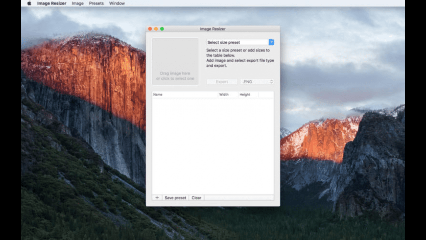 Smart Image Resizer for Mac - review, screenshots