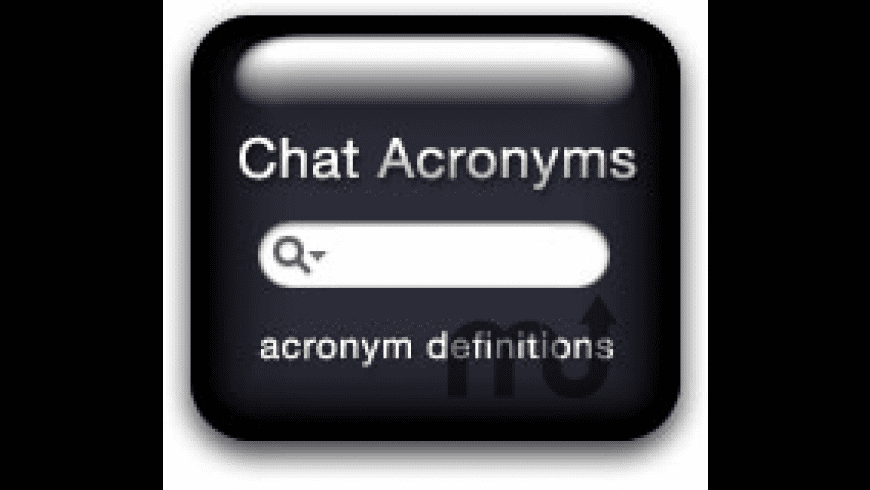 Chat Acronyms Widget for Mac - review, screenshots