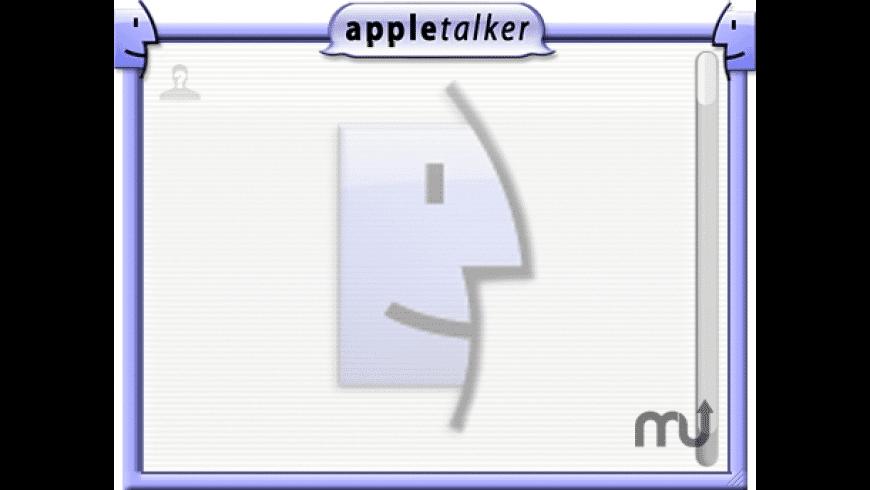 Appletalker Widget for Mac - review, screenshots