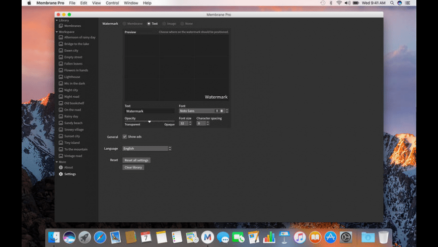 Membrane Pro for Mac - review, screenshots
