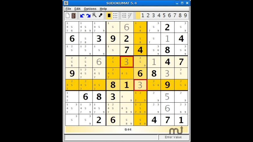 sudokumat for Mac - review, screenshots