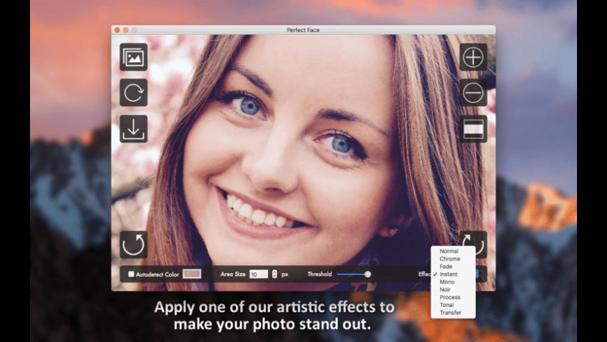 Perfect Face for Mac - review, screenshots