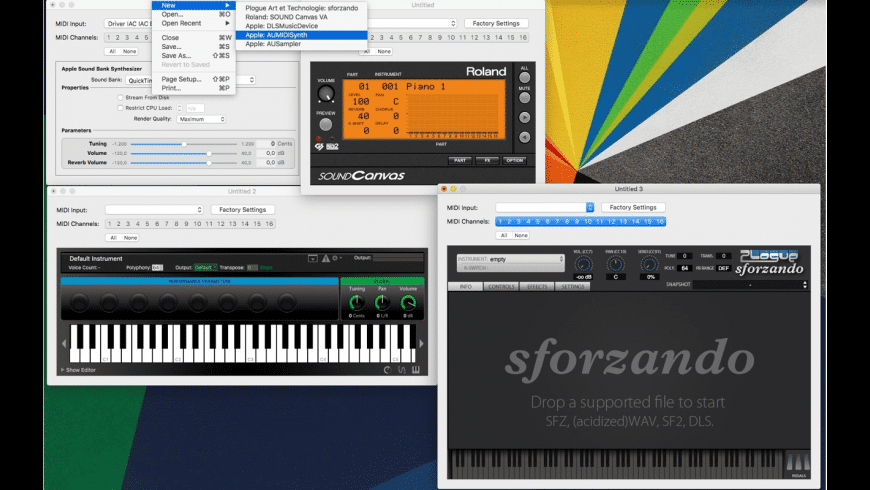 MusicDeviceHost for Mac - review, screenshots
