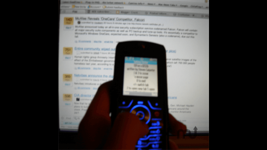 SSFox for Mac - review, screenshots