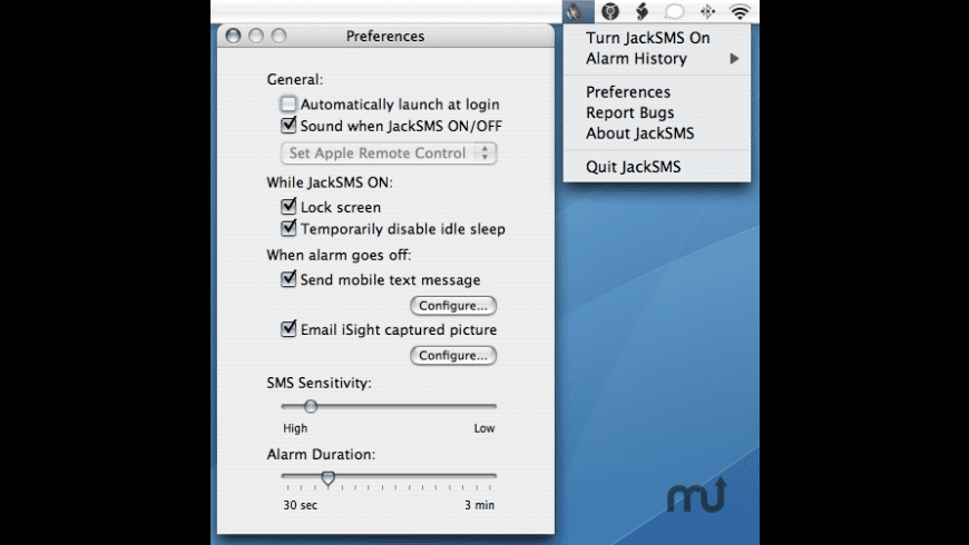 JackSMS for Mac - review, screenshots