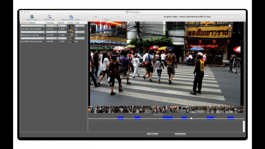 VideoSpeak for Mac - review, screenshots