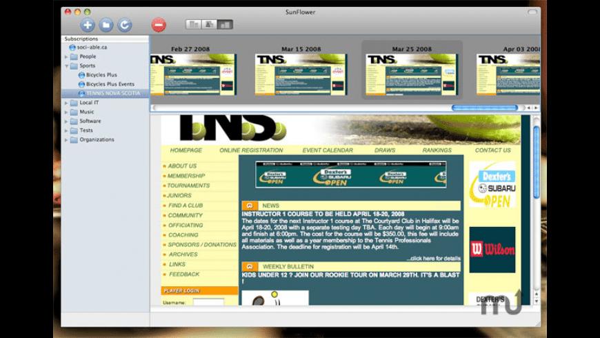 SunFlower for Mac - review, screenshots