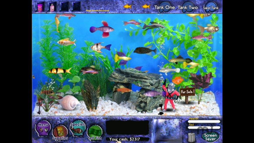 Fish Tycoon for Mac - review, screenshots