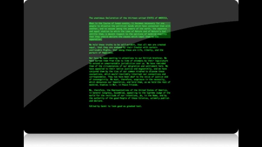 WriteRoom for Mac - review, screenshots