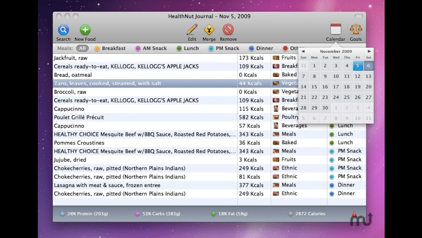 HealthNut for Mac - review, screenshots