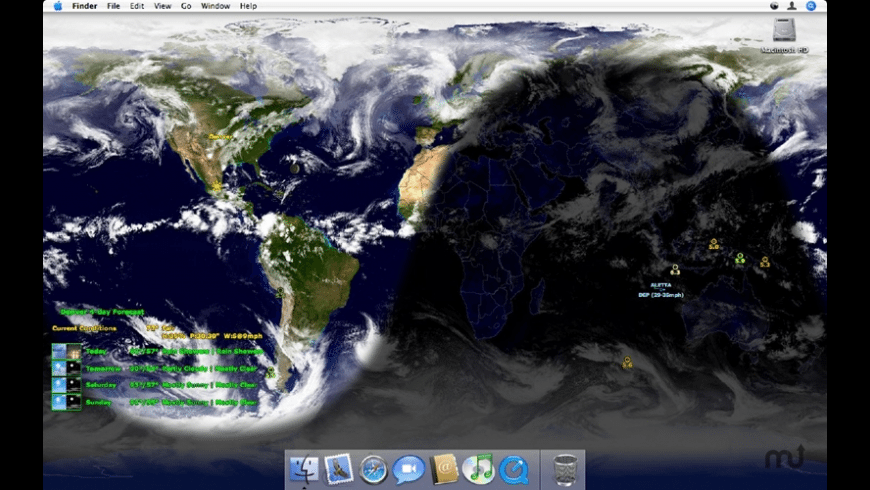 WorldViewer for Mac - review, screenshots