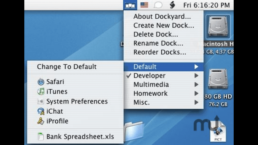 Dockyard for Mac - review, screenshots